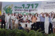 En Valledupar, Vicepresidente y Minvivienda oficializaron inicio de la segunda fase de vivienda gratis
