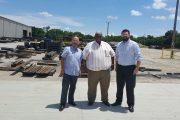 Alcalde de Agustín Codazzi anunció construcción de tanques prefabricados para la planta de tratamiento