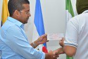 Alcalde de Valledupar entregó recompensa a informantes