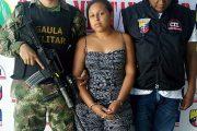 Por el delito de extorsión capturada una mujer en Aguachica