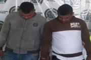 Capturados en Valledupar por los delitos de homicidio tentado y porte de armas de fuego