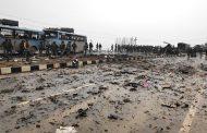 Una explosión mata al menos a 18 policías en la parte india de Cachemira