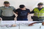 Cayó presunto atracador en Chimichagua