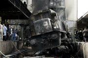 Choque e incendio dejan 25 muertos en estación de El Cairo