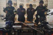 Capturadas dos personas con armas de fuego