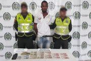 Cayó presunto atracador en La Manuelita