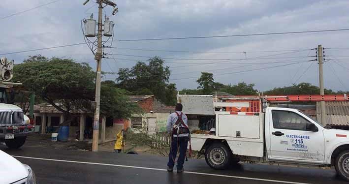 Hay preocupación por robo de vehículos a contratistas de Electricaribe