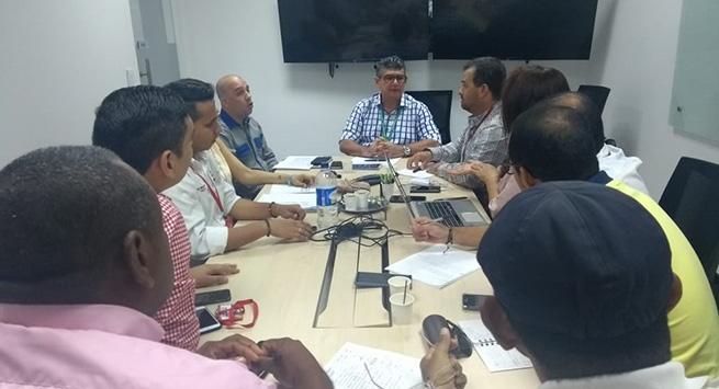 Electricaribe y Gobernación evaluaron avances de proyectos de remodelación eléctrica