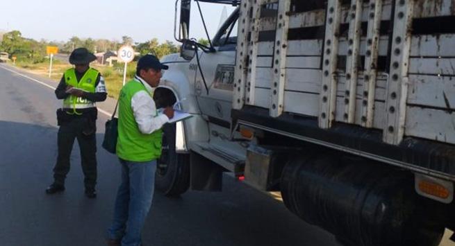 En zona de frontera, el CIIIP incauta más de 37 millones de pesos en productos agropecuarios