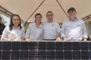 En el Green Power Colombia dona paneles solares al Sena Cesar y Guajira