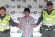 En Gamarra, capturado feminicida