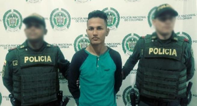 Capturado por tráfico de estupefacientes lo buscaba la Interpol