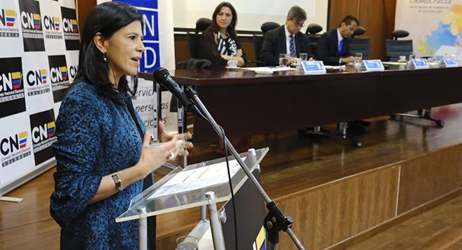 Capacitarán a más de 10 mil aspirantes a alcaldías y gobernaciones en gestión pública y régimen electoral