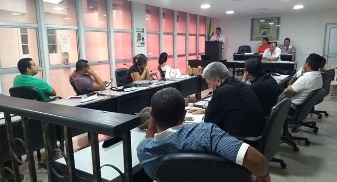 Electricaribe presentó informe en el concejo de Agustín Codazzi