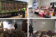 Ofensiva contra el contrabando en zona de frontera dejó la incautación de más de $ 50 millones en productos agropecuarios