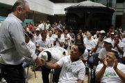 Entregan dotación jóvenes del Cesar que participarán en Olimpiada Iberoamericana Fides de Bogotá