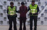 Cayó presunto homicida en Aguachica (Cesar)