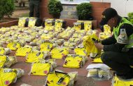 La Polfa incautó cargamento de camisetas falsificadas de la Selección Colombia