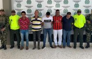"Seis capturados del Eln dejó operación ""Zafer"""