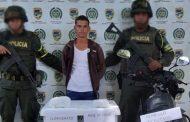 Policía capturó a una persona con siete kilos de base de coca en la vía La Mata (Cesar)