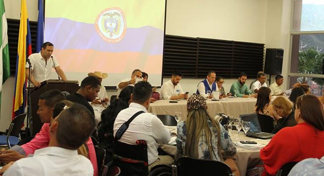 Iniciaron las discusiones en las sesiones de la Mesa Nacional de Víctimas