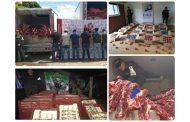 Desarticulan banda dedicada al contrabando de carne en zona de frontera