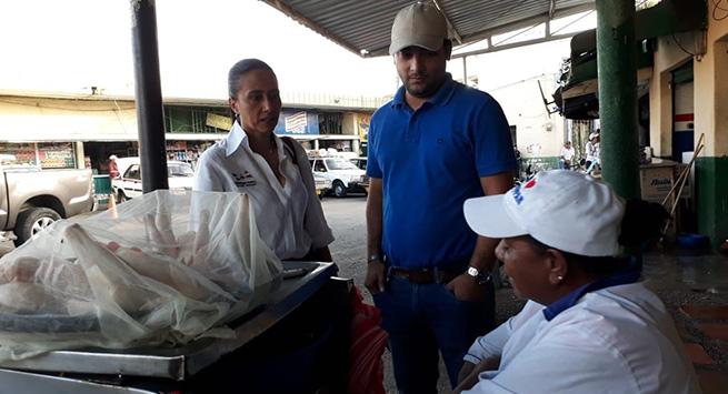 Mercado público de Valledupar, objeto de inspección y vigilancia