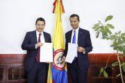 CNE y UIAF firman circular para la prevención y control del lavado de activos en los procesos electorales
