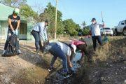 Corpocesar recogió más de cinco toneladas basura en el corregimiento de Guacoche