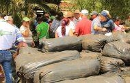 Más de 3.500 toneladas de silo entregadas por MinAgricultura en siete departamentos