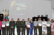 10 uniformados recibieron el reconocimiento por parte del Departamento de Policía Cesar