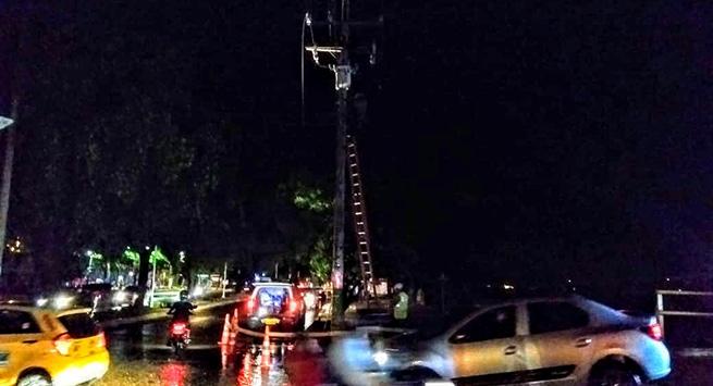 Vendaval afectó servicio de energía en Pueblo Bello y algunos sectores de Valledupar