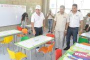 Dotarán con mobiliario escolar, instituciones educativas de los 24 municipios del Cesar que tiene a su cargo el Departamento