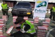 La Polfa se incautó 20 mil cajetillas de cigarrillos e inmovilizó un vehículo