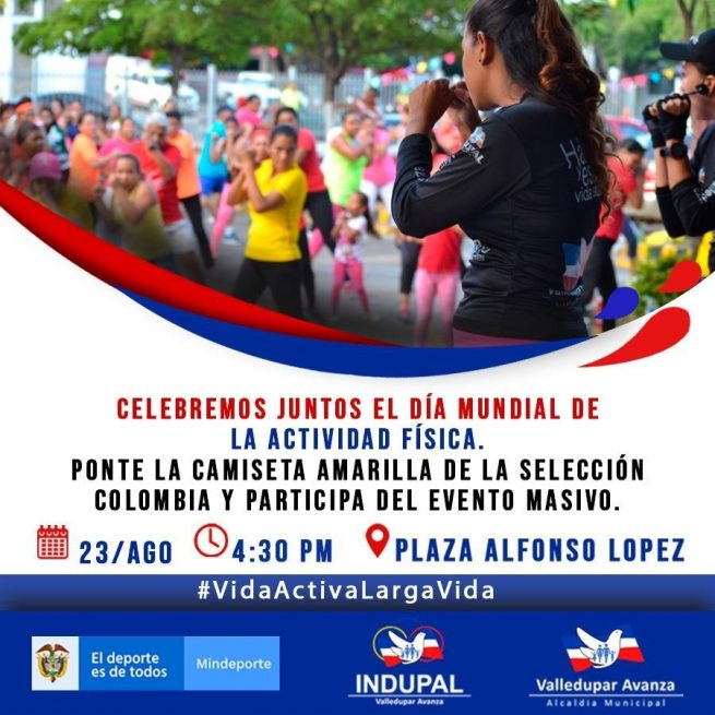 Con un evento masivo, Indupal celebra hoy el Día Mundial de la Actividad Física