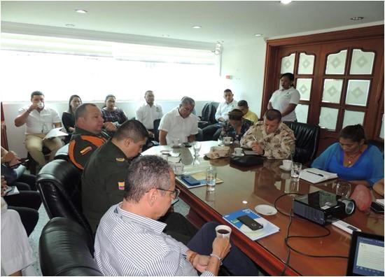 En La Guajira, sesión ordinaria de evaluación y seguimiento del Comité Departamental de Justicia Transicional de La Guajira