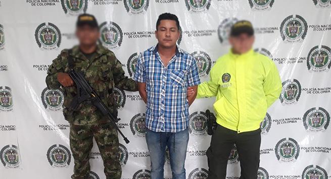 Capturado por comprar fusil hurtado a un soldado