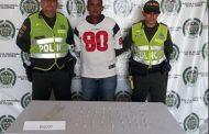 Dos hombres capturados con alucinógenos en Valledupar