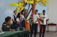 Policía Cesar promueve a través del arte la protección ambiental y ecológica