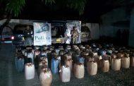 Contundente golpe al contrabando de combustible en la vía La Jagua del Pilar – La Paz