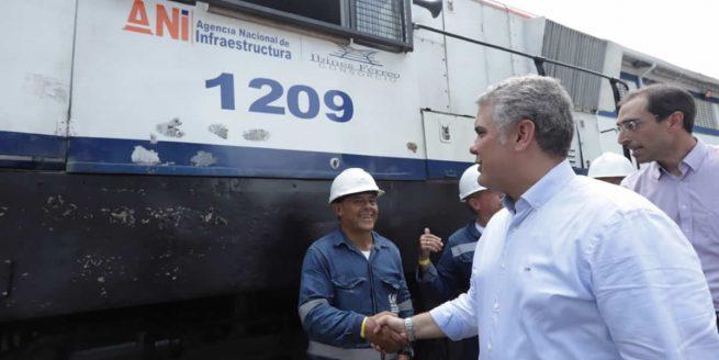 Gobierno movilizará un tren semanal entre La Dorada -Chiriguaná- Santa Marta