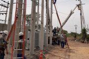 Instalado banco de reguladores en la subestación Bosconia