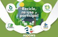 Corpocesar se une a la jornada nacional de recolección de residuos posconsumo