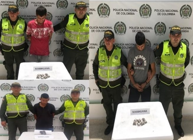 Capturados tres jíbaros en Aguachica (Cesar)