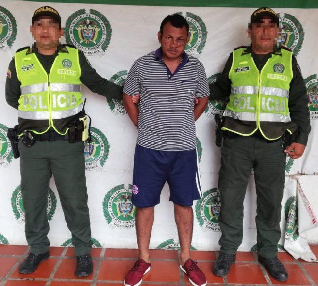 En La Paz (Cesar), capturado un hombre por el delito de acto sexual con menor de 14 años