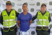 Presunto homicida cayó en el sur del Cesar
