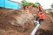 En un 60 % de avance en la optimización de las redes de acueducto de Aguachica