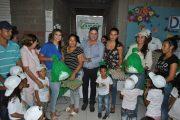 Niños de cuatro municipios del Cesar recibieron paquetes nutricionales