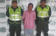 Capturado en Atánquez, hombre sindicado de acceso carnal violento