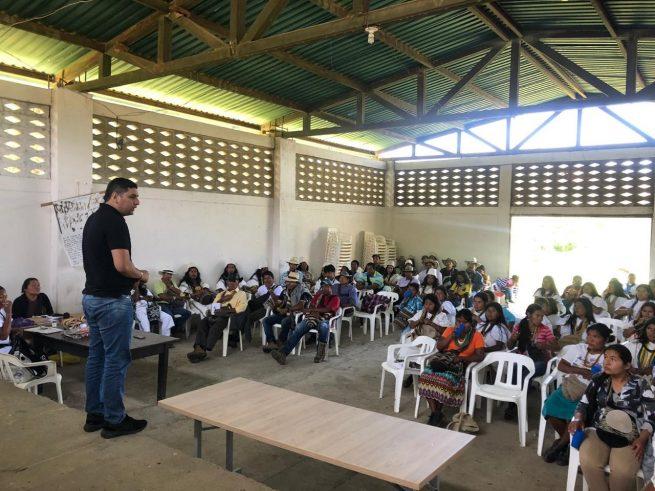 Inspeccionan servicio de alimentación escolar indígena